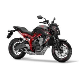 SET Marks Honda CB650F 2016 BLACK/RED