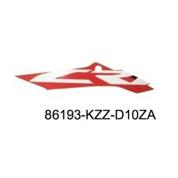 Autocollant Flanc Centre Droit Honda CRF 250L 2017