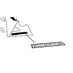 Logo Inférieur Gauche Honda CBR 650F 2016