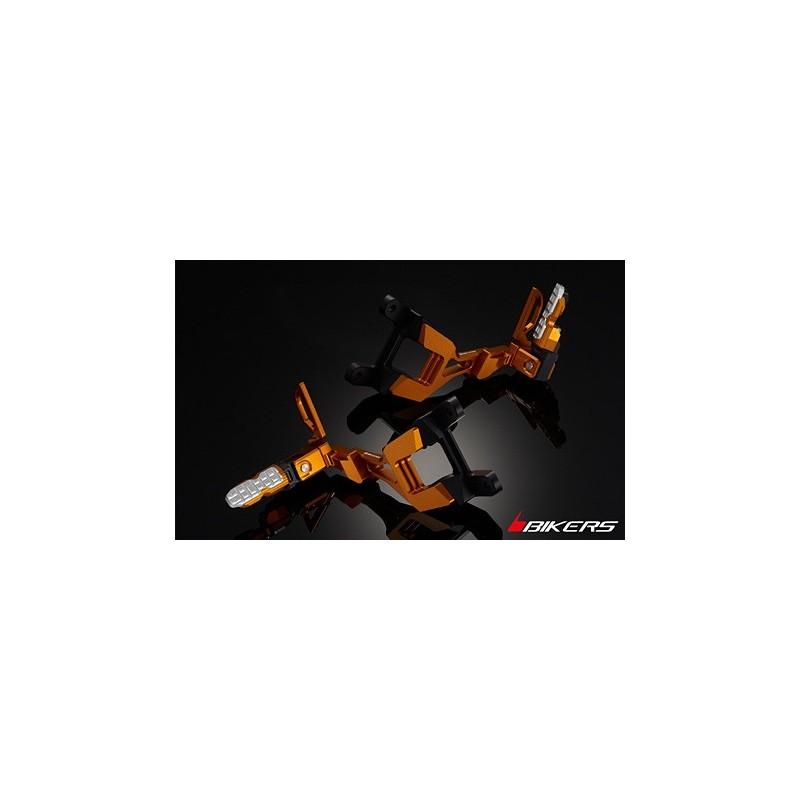 Reposes Pieds Passager arrière Bikers Honda CBR1000RR