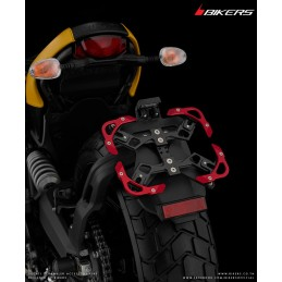 Support de Plaque Immatriculation Bikers Ducati Scrambler
