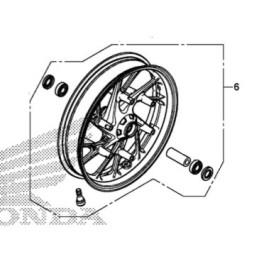 Front Wheel Honda CB650F 2017 2018