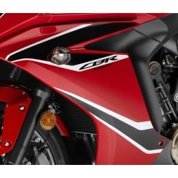 Kit Autocollant Flanc Avant Gauche Honda CBR650F Rouge 2017 2018