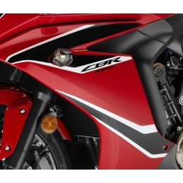 Kit Autocollant Flanc Avant Gauche Honda CBR650F Rouge 2017
