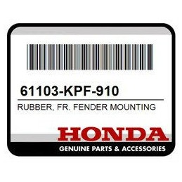Rubber Front Fender Mounting Honda
