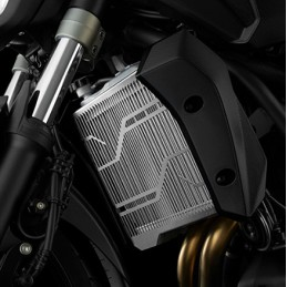 Stainless Radiator Guard Bikers Yamaha MT-07