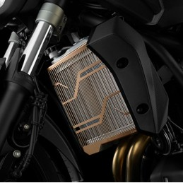 Titanium Radiator Guard Bikers Yamaha MT-07
