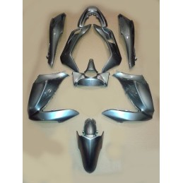 Set Body Fairing Seal Silver Metallic Honda PCX 125/150 v1 v2