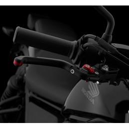 Poignée Frein Avant Réglable Pliable Noir Bikers Honda CMX 300 Rebel 2017 2018