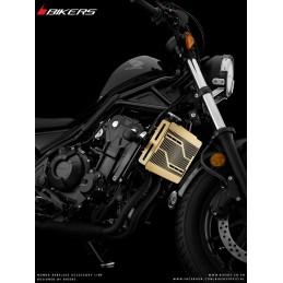 Stainless Titanium Coating Radiator Guard Bikers Honda CMX 300 Rebel