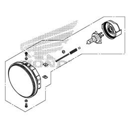 Headlight Unit Honda CMX 300 Rebel