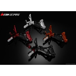 Rear Footrest Set Bikers Honda CBR250R