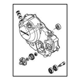 Couvre Carter Droit Honda CBR250R
