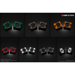 Rear adjuster plates Bikers Kawasaki Z300 / Z250