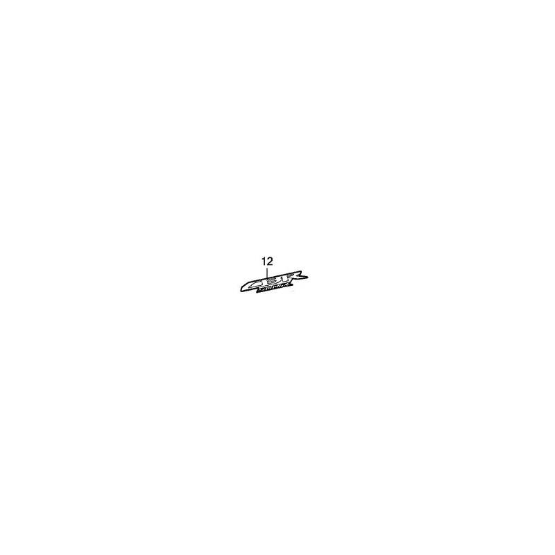 Autocollant Sticker Logo Flanc Avant Honda CBR 500R
