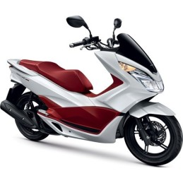 Set Body Fairing Pearl Himalayas White Honda PCX 125/150 v3