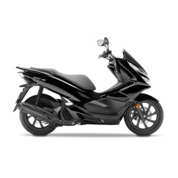 Set Body Fairing Asteroid Metallic Black Honda PCX 125/150 v4 2018 2019 2020