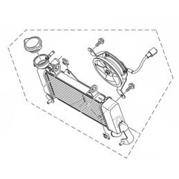 Radiator Yamaha MT-15