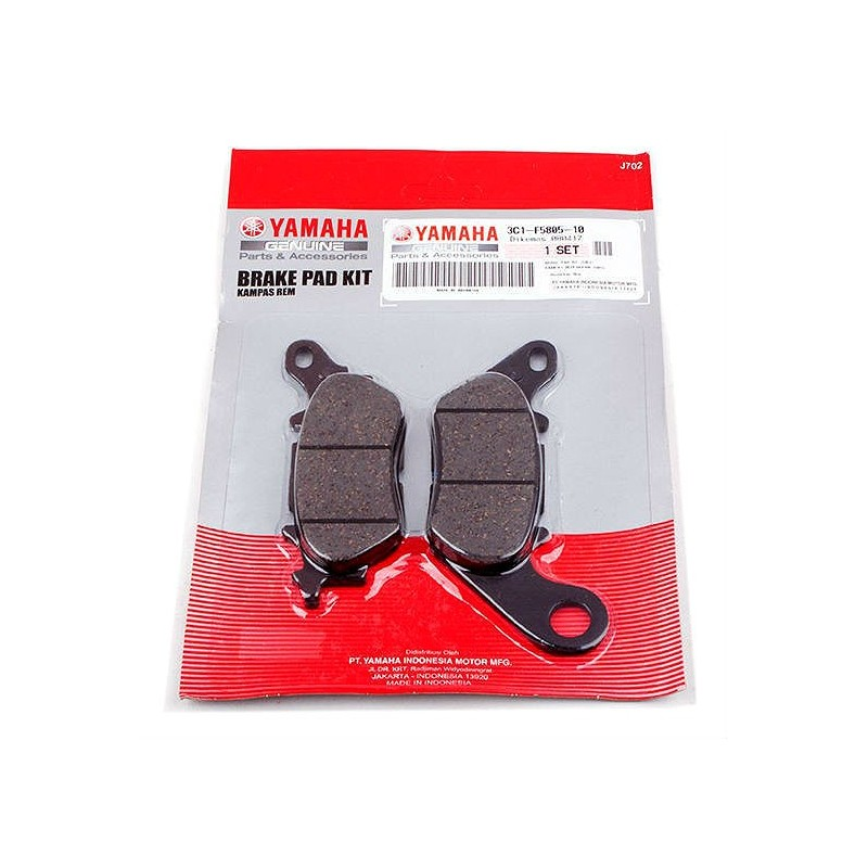 Rear Brake Pads Yamaha N-MAX