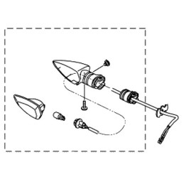Clignotant Avant Droit Yamaha MT-15 2019 2020