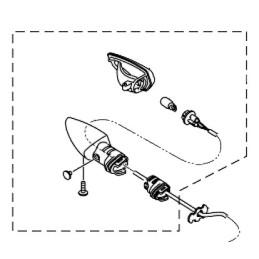Clignotant Arrière Droit Yamaha MT-15 2019 2020