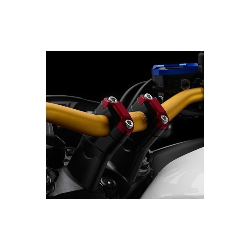 Adanse Guidon de moto en aluminium pour CB650F CB250F 14-2016 X-ADV 750 2017 Adaptateurs de hauteur