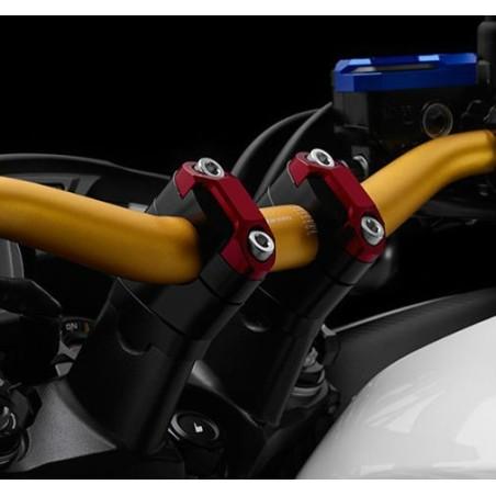 Fixations Guidon Fat bar 28.6mm Bikers Honda CB650F