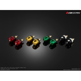 End Bar Caps Bikers for Original Handle Kawasaki NINJA 650 2017 2018 2019