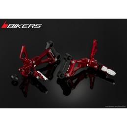 Cales Pieds Passager arrière Bikers Honda CB500F CB500X CBR500R