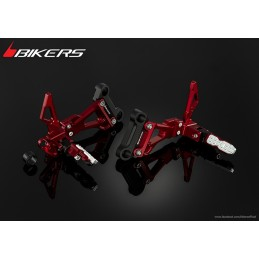 Rear Footrest Set Bikers Honda CB500F CB500X CBR500R