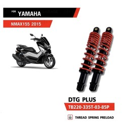 Amortisseurs YSS DTG PLUS ROUGE YAMAHA NMAX