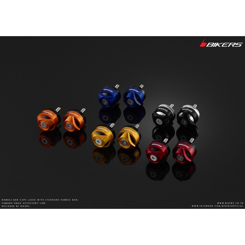 Handle Bar Caps (use with standard handle Bar) Bikers Honda Forza 300