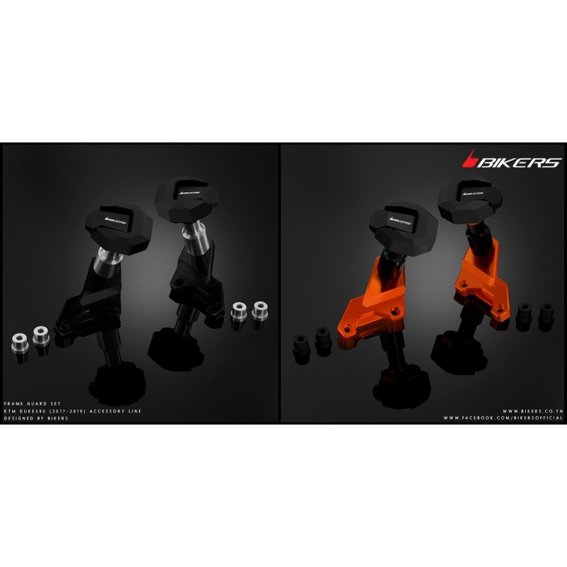 Protections de Carénages Bikers Ktm Duke 200 / 390