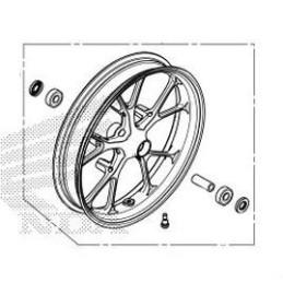 Front Wheel Honda CB150R 2018 2019