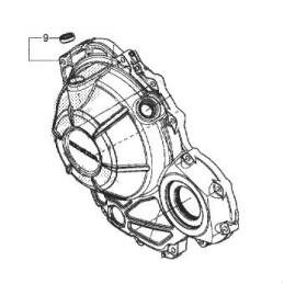 Couvre Carter Droit Honda CBR500R 2019
