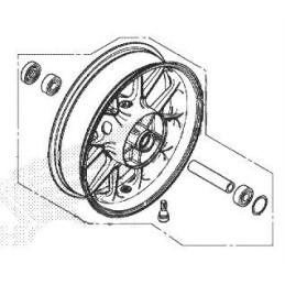 Rear Wheel Honda CB500F 2019
