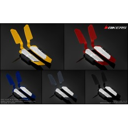 Foot Plate with Extra-Protection Bikers Honda Forza 300 2018 2019