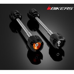 Rear wheel Axle with Protections Bikers Ktm Duke 200