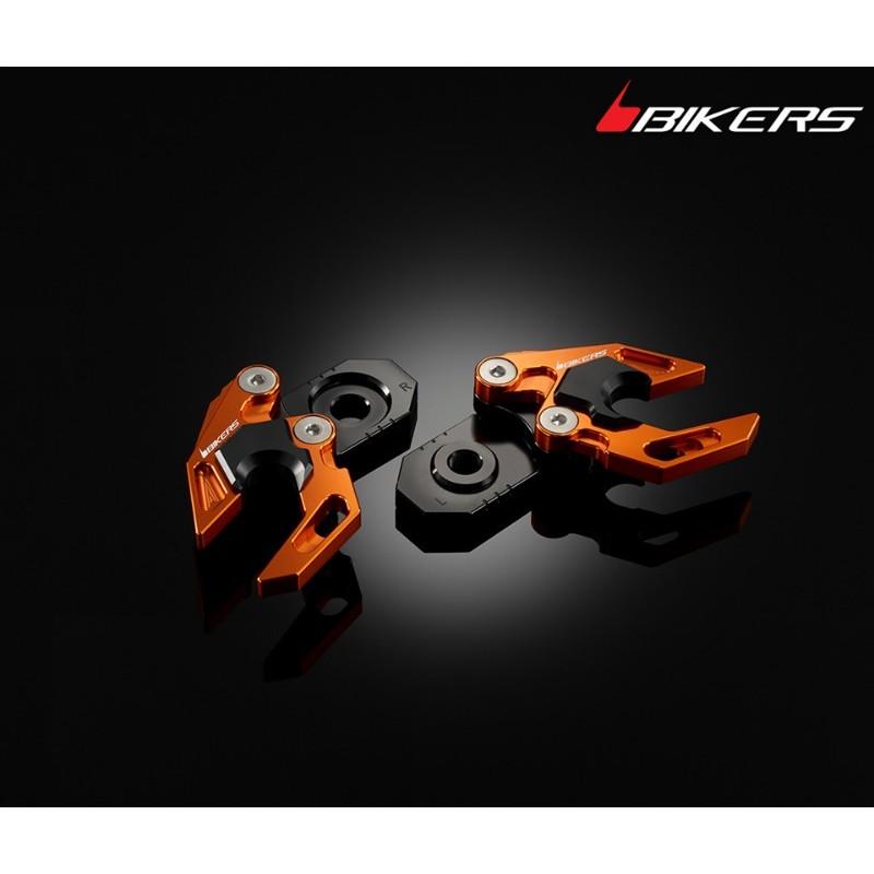 Chain Adjuster Set with Stand hooks Bikers Ktm Duke 200