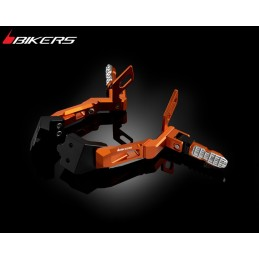 Rear Footrest Set Bikers Ktm Duke 200 / 390