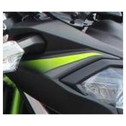 Pattern Cowling Upper Right Kawasaki Z650 Black 2019