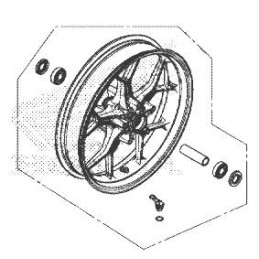 Front Wheel Honda CBR650R 2019 2020