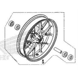 Front Wheel Honda CB500X 2019