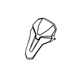 Cover Upper Headlight Honda CB500X 2019 2020 2021