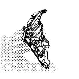 Intérieur Écope Droit Honda CB500X 2019