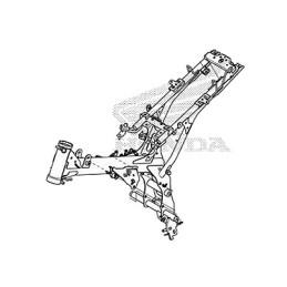 Cadre Honda MSX GROM 125SF