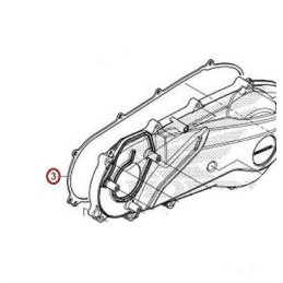 Gasket Cover Left Side Honda PCX 125/150 v4 2018 2019