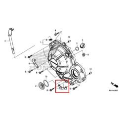 Support Carénages Inférieur Droit Honda CB500X