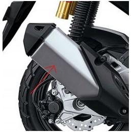 Upper Muffler Protector Honda ADV 150