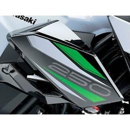 Autocollant Carénage Écope Droit Kawasaki Z250 2019 2020